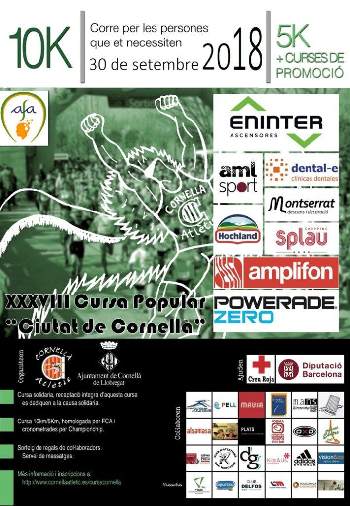Corresolidaris.org participará en la XXXVIII Cursa Popular Solidària de la Ciutat de Cornellà